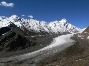 THE POLLUTED GLACIER